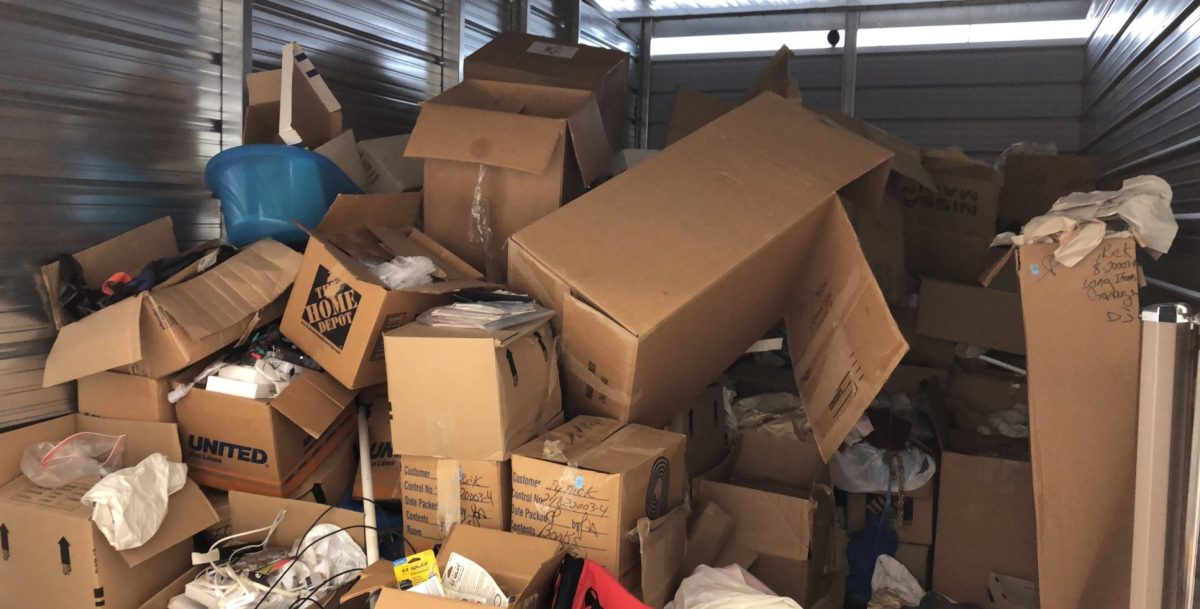 Green Guys Junk Removal provides storage unit clean outs in venice fl